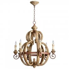 Cyan Designs 05148 - Atocha Six Lt. Chandelier