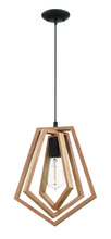 Craftmade 44591-ESP - Gem 1 Light Pendant in Espresso