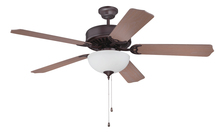 "Craftmade K11122 - Pro Builder 207 52"" Ceiling Fan Kit with Light Kit in Oiled Bronze"
