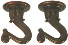 "Westinghouse 7045300 - 1 1/2"" Swag Hook Kit Antique Copper Finish"