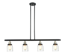 Innovations Lighting 214-BBB-G52 - Glass 4 Light Island Adjustable Stem Chandelier