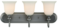 Jeremiah 28503-AN - Willow Park 3 Light Vanity in Antique Nickel
