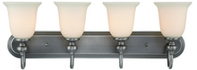 Jeremiah 28504-AN - Willow Park 4 Light Vanity in Antique Nickel