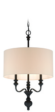 Jeremiah 28533-GB - Willow Park 3 Light Foyer in Gothic Bronze
