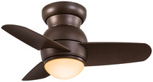 "Minka-Aire F510L-ORB - 26"" Oil Rubbed Bronze Spacesaver - Flush Mount"