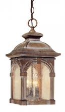 "Vaxcel International OD38796RBZ - Essex 9"" Outdoor Pendant"