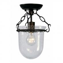 World Imports WI522129 - Gavin Collection 1-Light Euro Bronze Indoor Semi Flush Mount