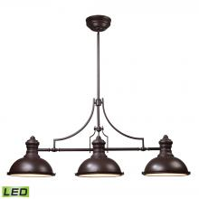 ELK Lighting 66135-3-LED - Chadwick 3 Light LED Billiard In Oiled Bronze