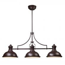 ELK Lighting 66135-3 - Chadwick 3 Light Billiard In Oiled Bronze