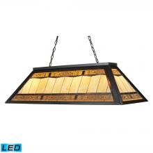 ELK Lighting 70113-4-LED - Filigree 4 Light LED Billiard In Tiffany Bronze
