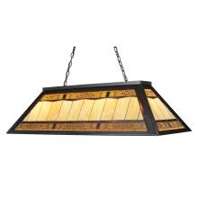 ELK Lighting 70113-4 - Filigree 4 Light Billiard In Tiffany Bronze